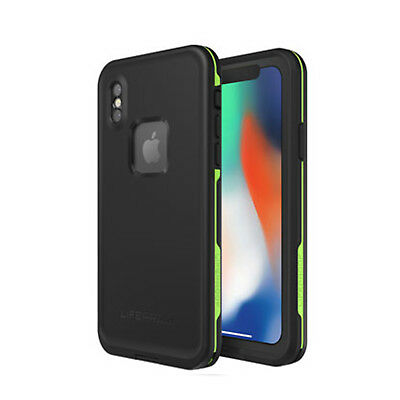 iPhone X Case, Genuine Lifeproof FRE Dust Shock Waterproof Cover for Apple