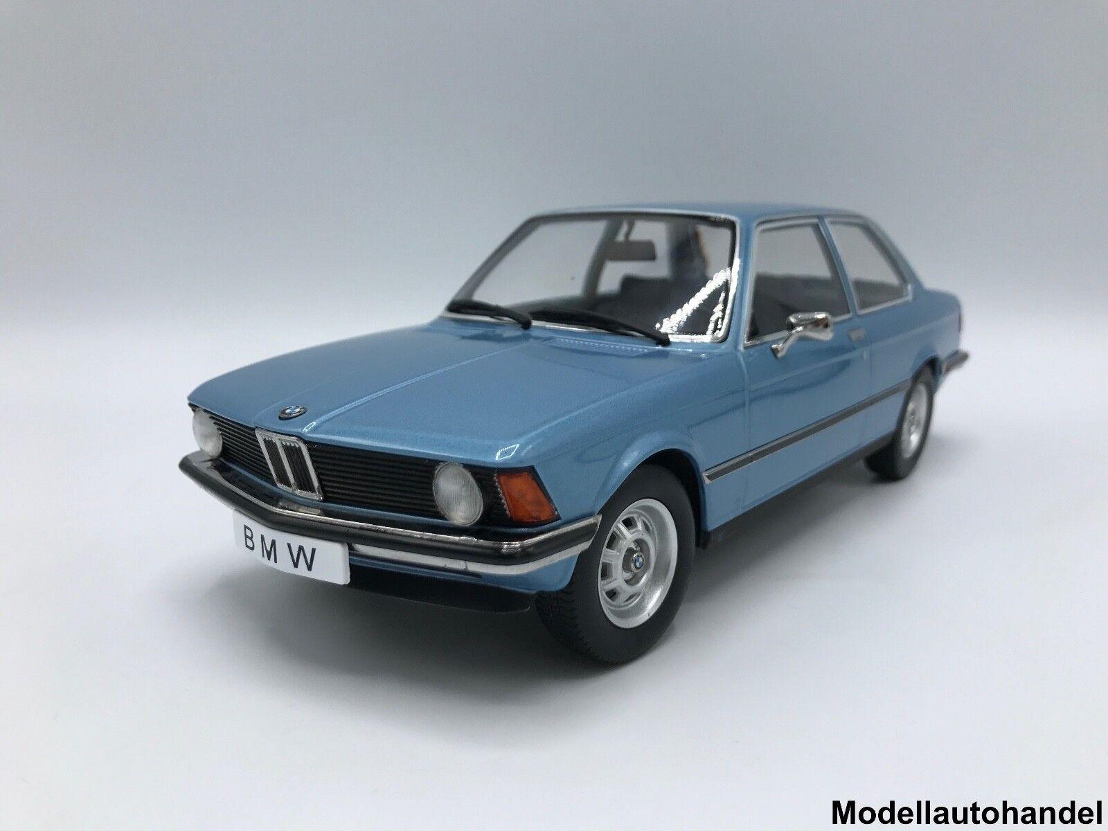 Bmw 318i e21 3er 1975 metallic-azul claro - 1 18 KK-Scale