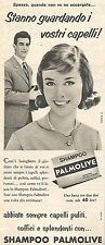 W8675 Shampoo PALMOLIVE  - Pubblicità del 1958 - Vintage advertising