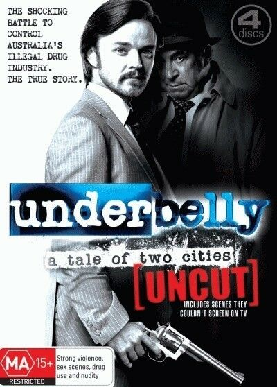 Underbelly: A Tale of Two Cities (Uncut) = NEW DVD R4
