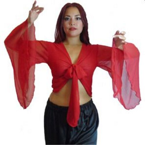 Choli BellyDance Dancing Winged Arm Top Tribal Gypsy Costume Size10-24 upto 4XL