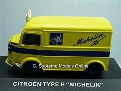 CITROEN Tipo H VAN PNEUMATICI MICHELIN GIALLO 1//43 IXO la consegna in scatola tipo Y0726K {}