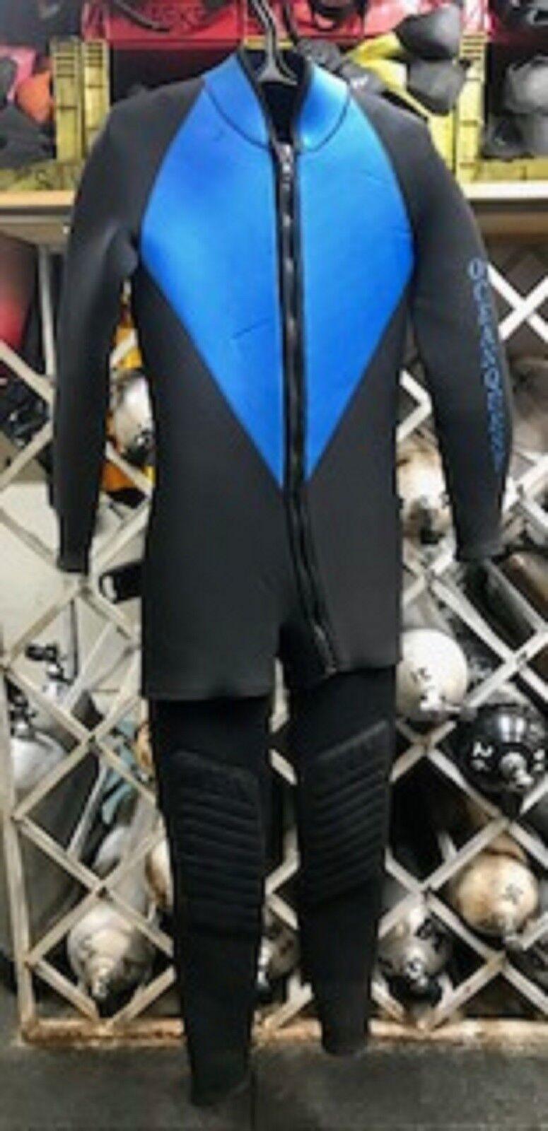USED- OceanQuest, Men's, 5 mm-  Two Piece Wet suit (Medium)  cheap