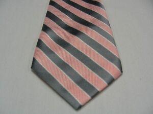 Tie Boys Striped Neck Clip On Tie Stripe Boy Toddler 2T-4T Kids 4-7 Boys 8-16