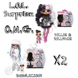 LOL-Surprise-OMG-Winter-Disco-DOLLIE-Sister-Doll-SNOWLICIOUS-Snow-Sis-In-Hand
