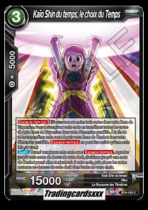 le choix du Temps BT4-103 C ♦Dragon Ball Super♦ Kaio Shin du temps VF