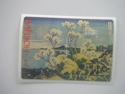 Antigua Barbuda-Art-Painting-Japanese art-Hokusai