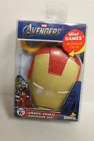 Marvel The Avengers Iron Man Mini Games Card Game w Backpack Clip-On Case NEW