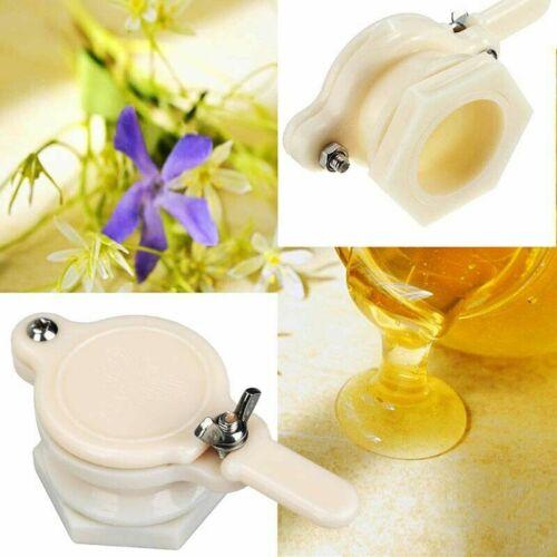 2PCS Honigschleuder Quetschhahn Ablaufhahn Ablasshahn Bienenzucht Bienenstock