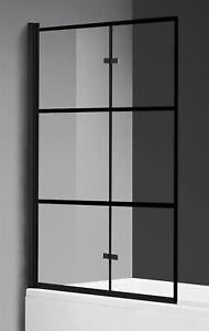 Badewanne Berkan 120x140cm links schwingend 5mm mit Nano-Beschichtung drehend