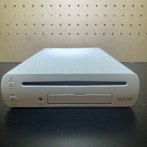 Nintendo-Wii-U-Console-Only-WUP-001-02-White-Tested-amp-Working-Free-Ship