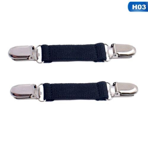 1 Paar neue Edelstahl Mitten Clips elastischer Handschuh für Kinder A