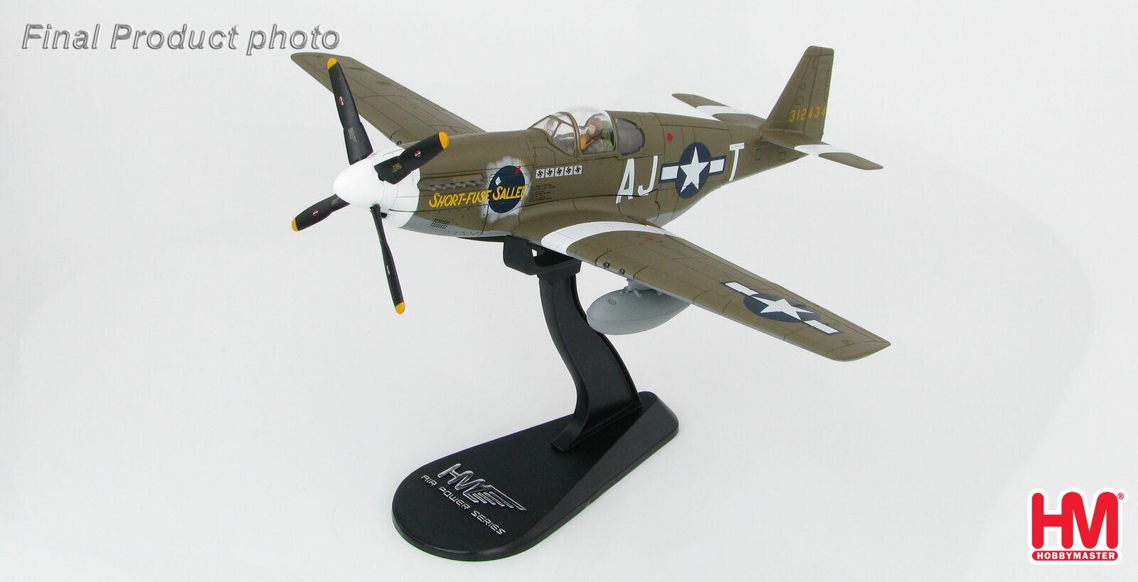 Hobby Master 1:48 HA8509 P-51B Mustang Short-Fusible de Salé 356th FS 354th