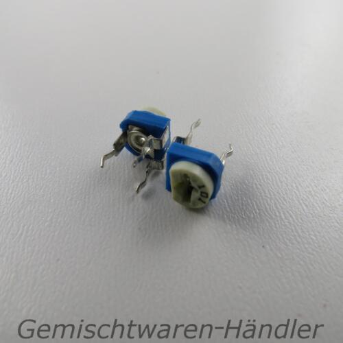2x 5k OHM Trimmer Poti Trimmpoti Drehwiderstand dreh Einstell Potentiometer