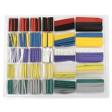 500Pcs 10 Color Assortment 2:1 Heat Shrink Tubing Wire Cable Sleeving Wrap Kit