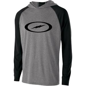 Storm Men/'s Fire Road Performance Hoodie Bowling Shirt DriFit Black