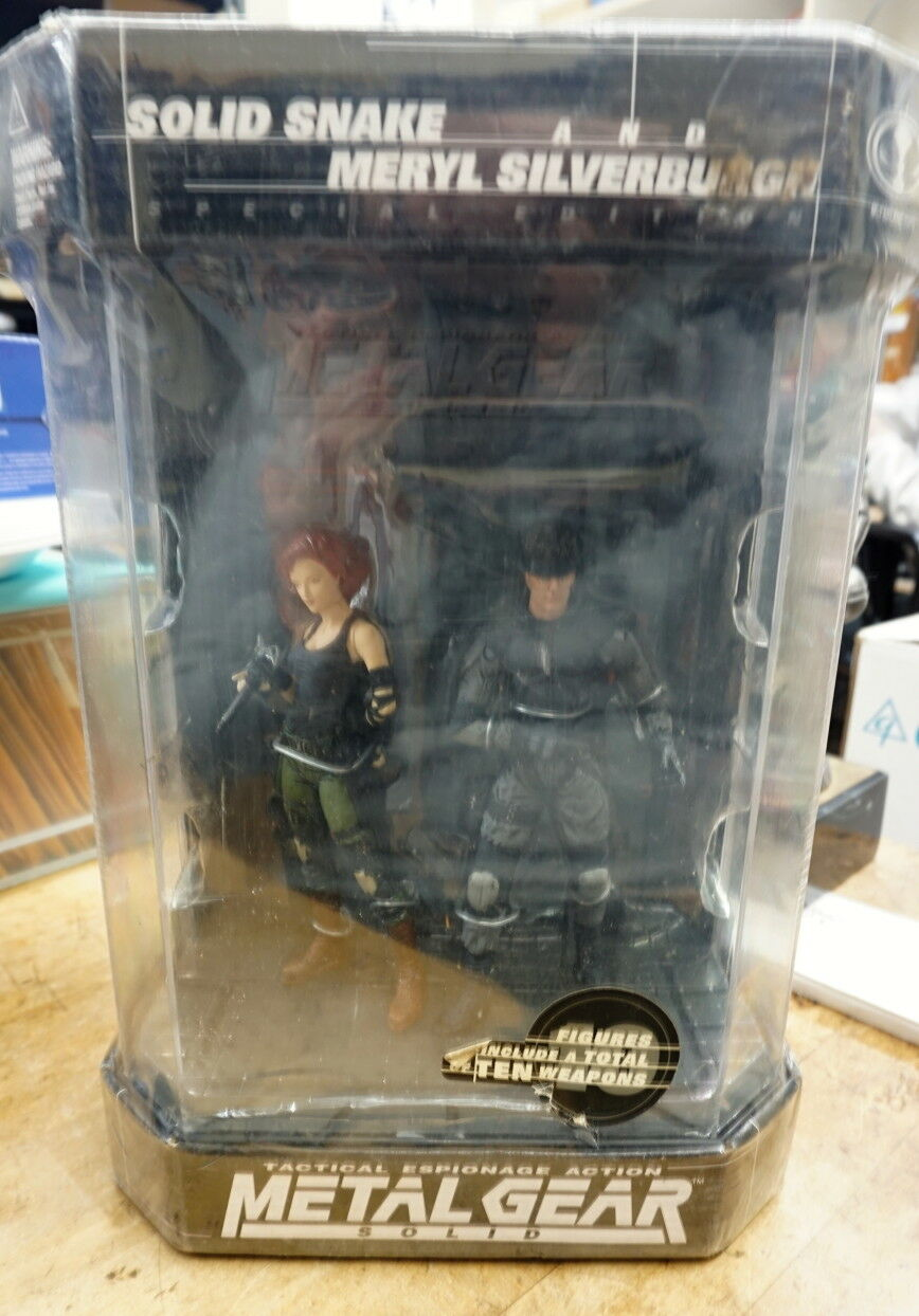 Metal Gear Solid (McFarlane) Snake & Meryl Action Figures, Figures, Figures, Fishtank, New in Box 3ed783
