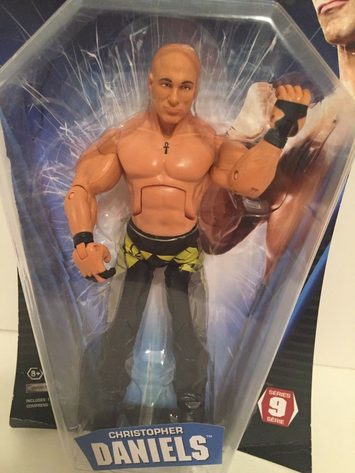 TNA Christopher Daniels wrestling figure deluxe impact ROH Addiction wwe wcw bad