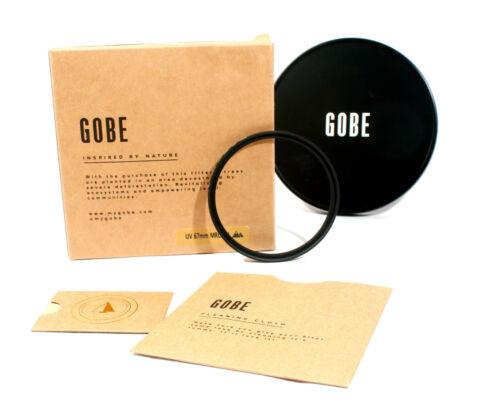 GOBE 67mm UV 16L MRC 2 Peak Filter New opened in original box Glass