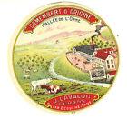 """Etiquette de Fromage Ancienne""""Petite Eti Camembert Vallée de L'orne No167"""