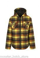 Brand Nomis Kurt Flannel Chestnut Plaid Snowboard Jacket Medium-xlarge Tall