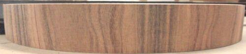 """Rosewood South American Santos wood veneer edgebanding  1.25/"""" x 120/"""" x 1//50th/"""""""