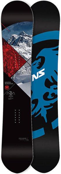 NEVER SUMMER Premier F1 163 Snowboard Handmade in USA Freeride Allround Board