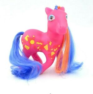 Vintage 1987 Hasbro My Little Pony MLP G1 Rockin' Beats Pretty Beat Pony