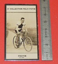 PHOTO IMAGE FELIX POTIN 2ème ALBUM 1907 CYCLISME PROTIN BELGIQUE BELGIË PISTE