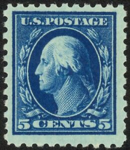428-5c-Perf-10-Washington-Lovely-Mint-NH-Single