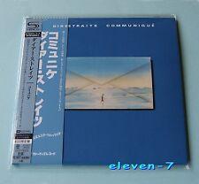 DIRE STRAITS Communique JAPAN mini lp cd SHM HR CUTTING brand new & still sealed