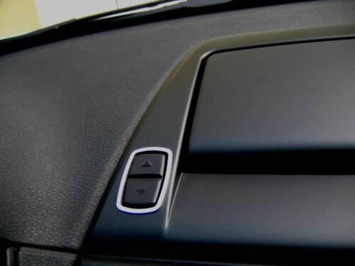 D BMW Z4 Chrom Rahmen für Schalter Display Edelstahl poliert