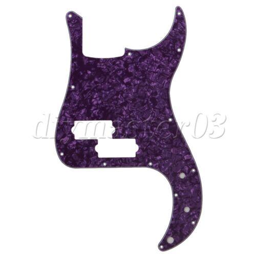 3 Ply PVC P Ba?-Kratzer-Platte PB Ba?-Gitarren-Schlagbrett-purpurrote Perle 13