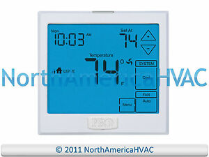 Pro1 IAQ T955 Touchscreen 7 Day Programmable Thermostat 3H/2C 3 Heat ...