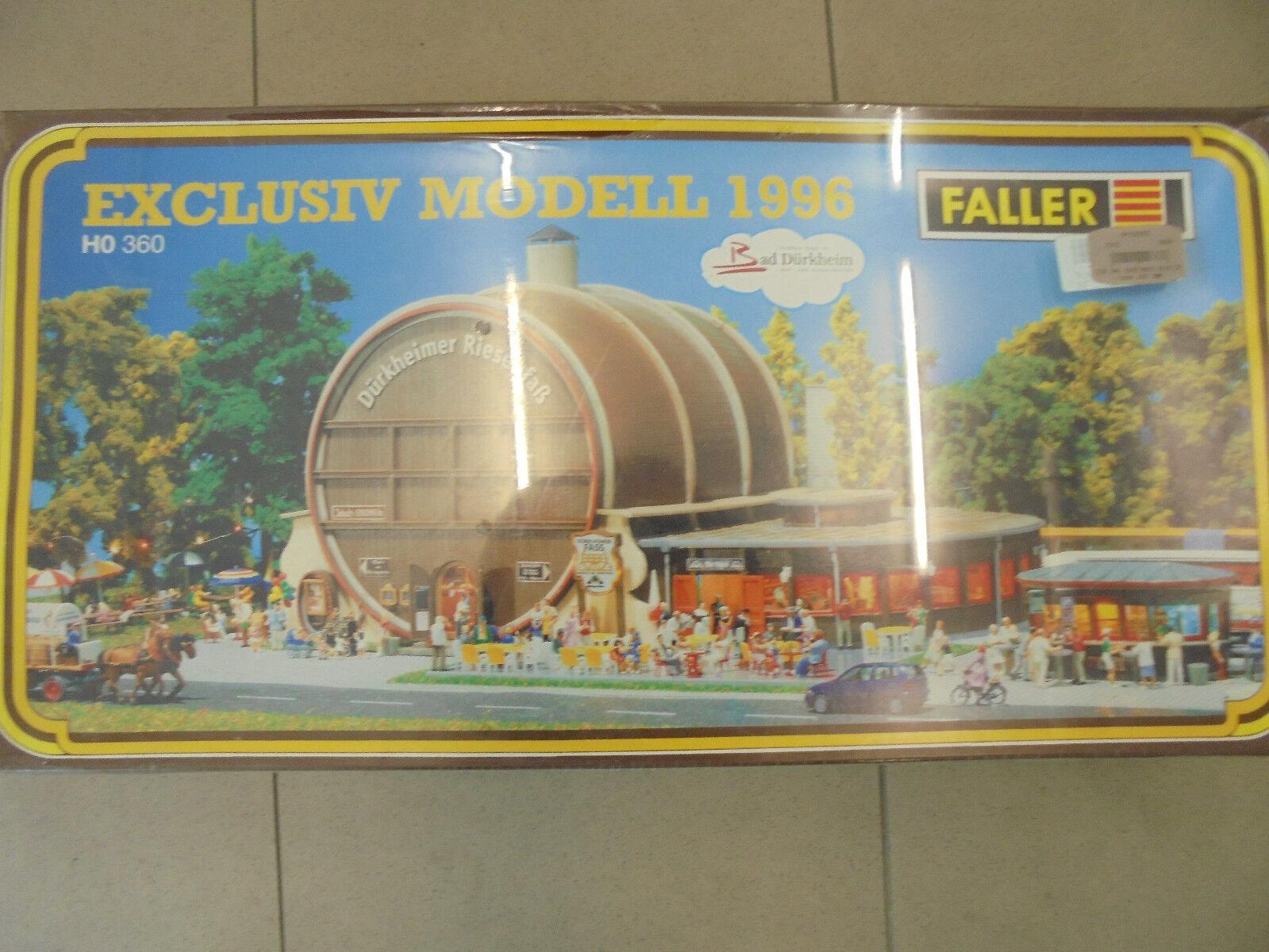 Ftuttier 360 exclusivmodellolol 1996  Dürkheimer Dürkheimer Dürkheimer riesenfaß  h0 kit di plastica fc3f0b