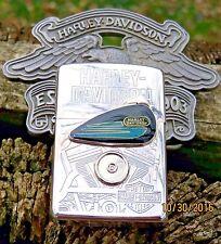 JAPANESE 1996 HARLEY DAVIDSON ZIPPO (GAS TANK) VERY RARE- LIMT#0575-UNUSED