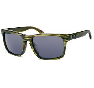 3c762fb84ac47 Oakley OO 2048-03 POLARIZED HOLBROOK LX Banded Green Grey Mens ...