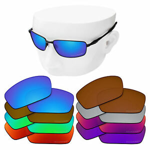 7a215ccb97 Image is loading OOWLIT-Iridium-Etched-POLARIZED-Replacement-Lenses-for- Oakley-