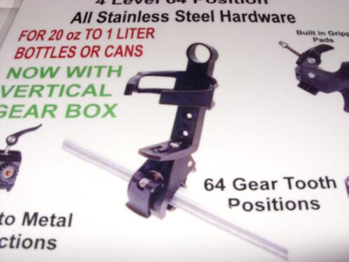 KTM Motorcycle ATV Handlebar Mounted Cup Holder Multi Angle 64 Gear BLACK