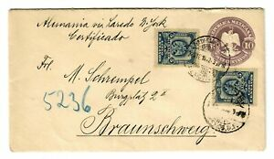 Registered (See Reverse) District Federal To Braunschweig 1902