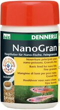 Dennerle Fish Food: Nano Gran (NanoGran) 100ml Granules for All Small Nano Fish