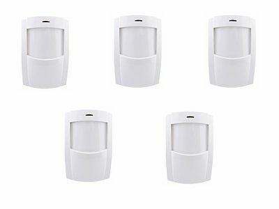 Pack of 5 Texecom Premier IR Compact PIR's Pet Friendly up to 35Kg ACH-0001