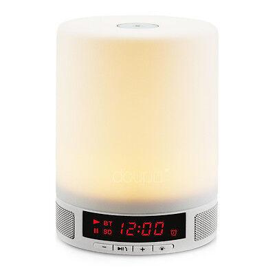 Realistisch Touch Lighting Bluetooth Speaker Nacht Schlaf Licht Musik Wecker Lautsprecher Modern Ontwerp