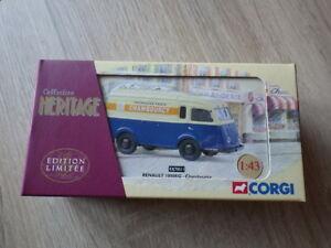 Corgi collection heritage ex 70515 renault 1000 kg valentine new in box