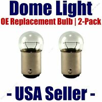 Dome Light Bulb 2-pack Oe Replacement - Fits Listed Chrysler Vehicles - 90