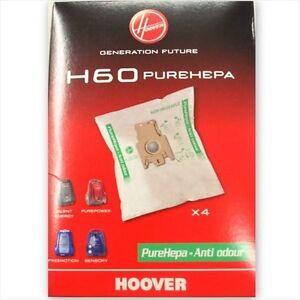 4-SACCHETTI-HOOVER-H60-35600392-SILENT-ENERGY-SENSORY-PUREPOWER-FREEMOTION-NUOVI