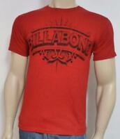 Billabong Legendary Tee Mens Red 100% Cotton T-shirt