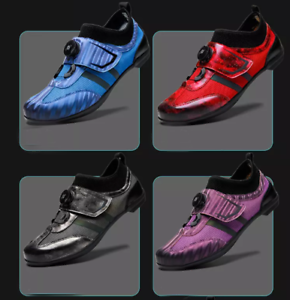Men/'s Cycling Shoes MTB Bike Racing Trainers Professional Road Bicycle Sneakers