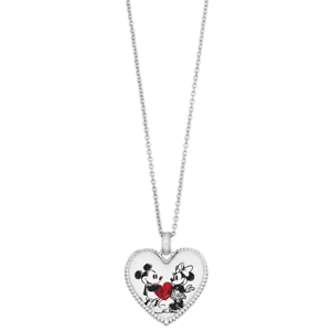 c09ed93a7 Image is loading DISNEY-DISNEY-039-S-MICKEY-MINNIE-MOUSE-NECKLACE-