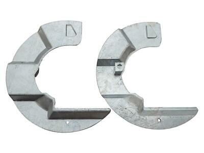 Defender /& Discovery 1 Galvanised Front Brake Disc Mudshields